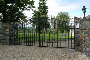 Commercial gates - Strabane - Irwin Dougherty Engineering - Gates