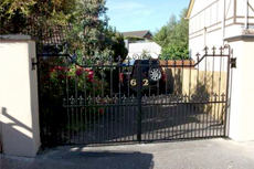 Driveway gates - Claudy - Irwin Dougherty Engineering - Decorative