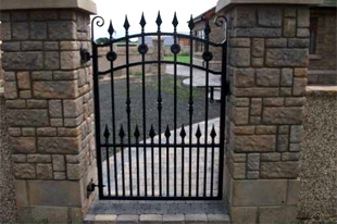 Garden Gates   Dunnamanagh   Irwin Dougherty Engineering   Smaller Gates ...