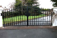 Security railings - Limavady - Irwin Dougherty Engineering - Security Gates